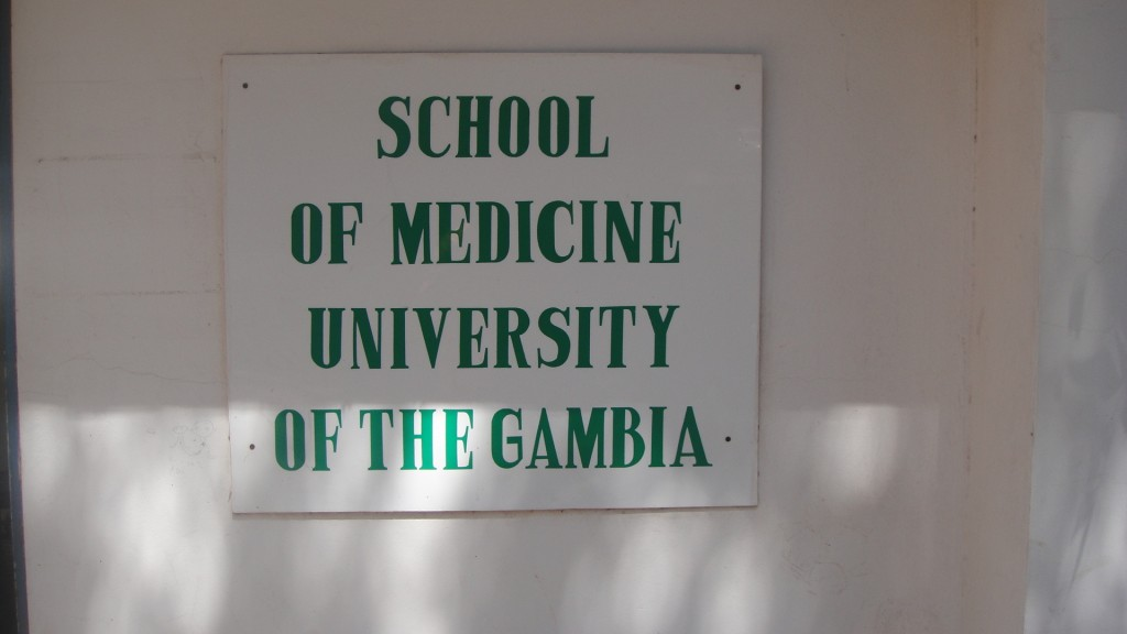 Medical faculty of the University of The Gambia/Medische faculteit van de universiteit van Gambia